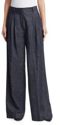 Brunello Cucinelli Cotton Wide-Leg Pants