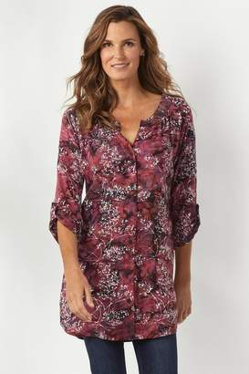 Soft Surroundings Briland Batik Tunic