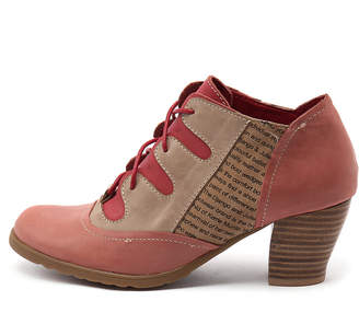 Django & Juliette Dapple Navy multi Shoes Womens Shoes Dress Heeled Shoes