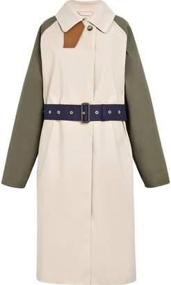 MACKINTOSH Colour Block Bonded Cotton Trench Coat LR-076D/CB
