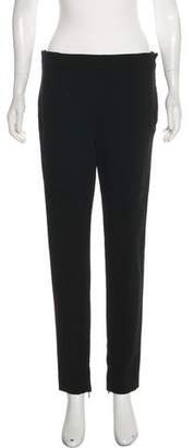 Valentino High-Rise Straight-Leg Pants