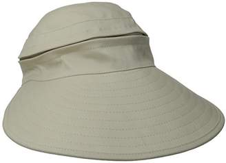 Physician Endorsed Women's Naples Cotton Packable Cap & Visor Sun Hat
