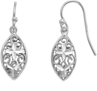 5eb650ed1 Sterling Spark Sterling Silver Filigree Drop Earrings