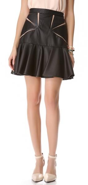 Three floor Faux Attraction Skirt