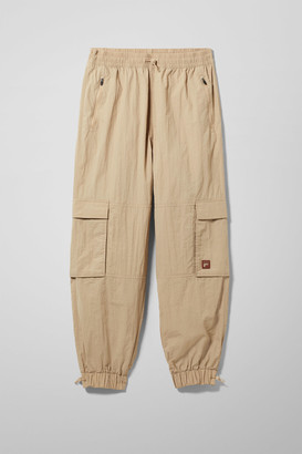 Weekday Malek Track Pants - Beige