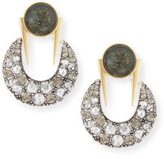 Lulu Frost Laumière Statement Earrings $288 thestylecure.com