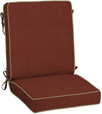 Bombay Outdoors Pompas Texture Snap Dry Reversible Chair Cushion