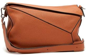 Loewe Puzzle Xl Grained Leather Bag - Mens - Tan