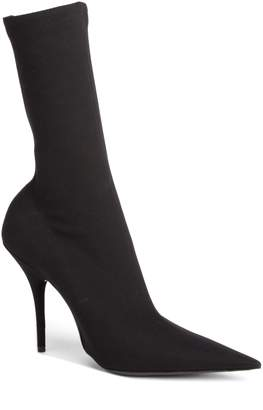 Balenciaga Pointy Toe Sock Bootie
