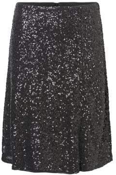 Vero Moda Sequined High-Waist Skirt