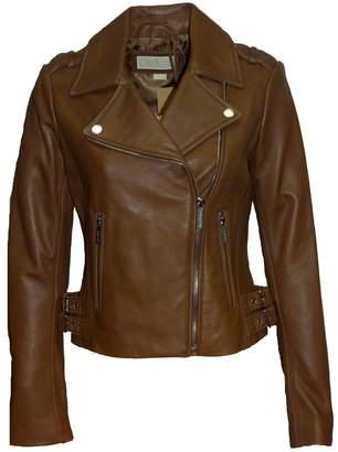 Michael Kors Moto Leather Jacket-M