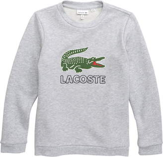 ada4aed50db0 Lacoste Vintage Croc Graphic Sweatshirt