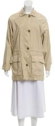 Loro Piana Horsey Short Coat Tan Horsey Short Coat