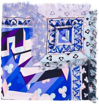 Emilio Pucci large printed scarf