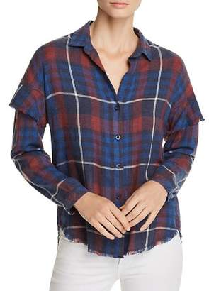 Bella Dahl Ruffled Plaid Shirt - 100% Exclusive