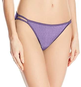 Vanity Fair Women's Illumination Body Shine String Bikini Panty 18108