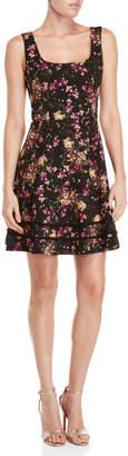 Kensie Floral Fit & Flare Dress