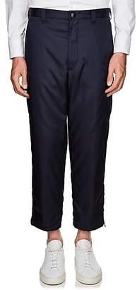 Prada Men's Padded Tech-Gabardine Cargo Trousers - Navy