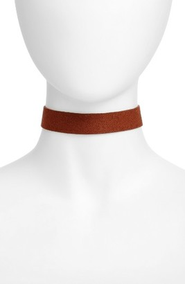 Women's Jules Smith Orion Faux Suede Choker $30 thestylecure.com