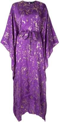 Taller Marmo printed kimono style dress