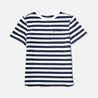 Tommy Hilfiger Boys' Ame Bright Pique Stripe T-Shirt