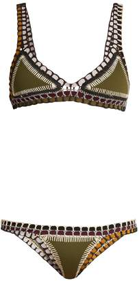 Kiini Wren crochet-trimmed triangle bikini