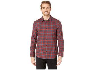 Calvin Klein Long Sleeve Brushed Twill Check Shirt