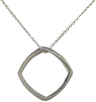 Tiffany & Co. Frank Gehry 925 Sterling Silver Torque Ring Pendant Necklace