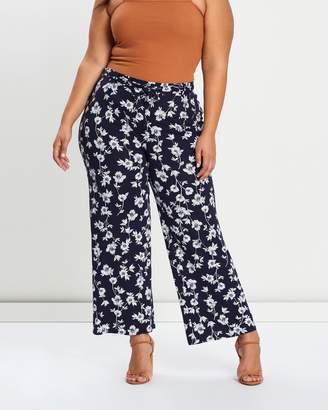 Evans Riviera Jersey Wide Leg Pants