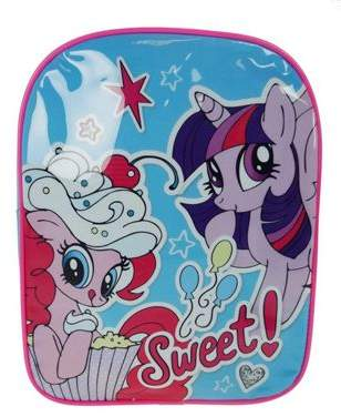 My Little Pony Sweet Pvc Front School Bag Rucksack Backpack