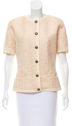 Gianni Versace Silk Short Sleeve Jacket