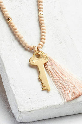 The Giving Keys Inspirational Bead Necklace
