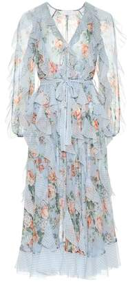 Zimmermann Bowie floral silk chiffon dress