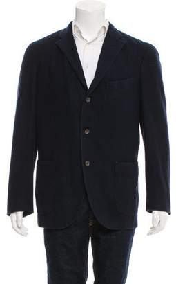 Boglioli Wool Button-Up Cardigan