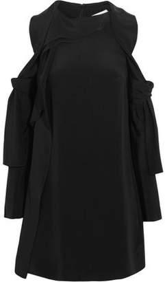 3.1 Phillip Lim Cutout Silk-Satin Mini Dress