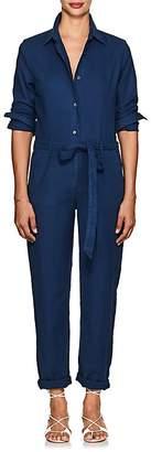 Baldwin Women's Rosie Cotton-Blend Twill Jumpsuit