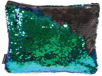 Fashion Angels Style Lab Magic Sequin Pouch- Mermaid/Black