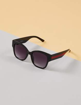 Lane Bryant Sunglasses with Red Striped Arms