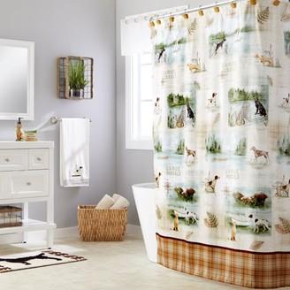 Adirondack SKL Home Dogs Shower Curtain