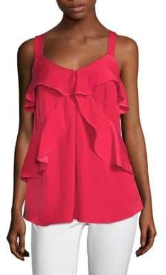 MICHAEL Michael Kors Layered Ruffle Tank Top