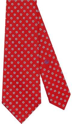 Gucci Tiger underknot silk tie