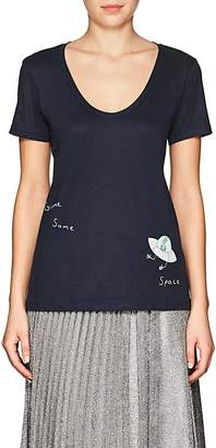 "Haas Brothers Xo Barneys New York Women's ""Gimme Some Space"" Pima Cotton T-Shirt"