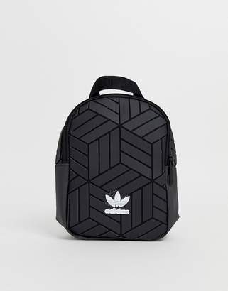 adidas 3D geometric mini backpack