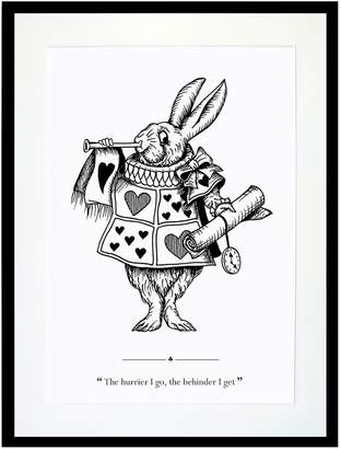 Eleanor Stuart - The White Rabbit Print