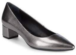Calvin Klein Genovea Metallic Pumps