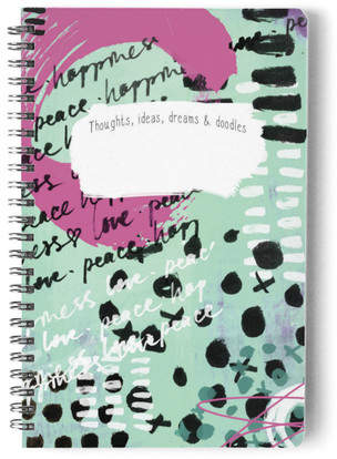 Dreams & Doodles Self-Launch Notebook