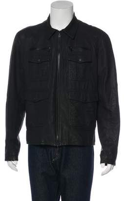 Rag & Bone Leather Field Jacket