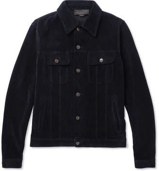 Stella McCartney Dicky Cotton-Velvet Jacket