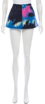 Marc Jacobs Tie-Dye Mini Skirt
