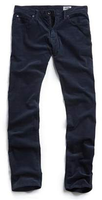Todd Snyder 5-Pocket Stretch Italian Cord in Navy